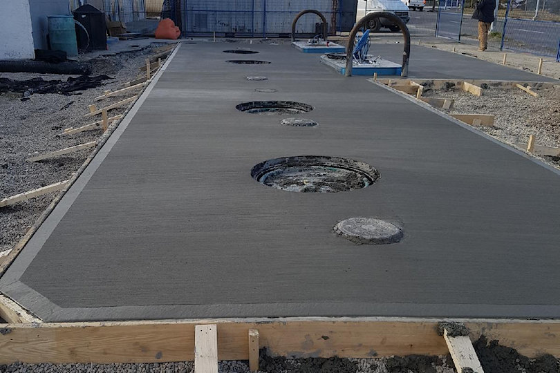 1st Class Concrete Services Dolly Pads Amp Gas Station Pads